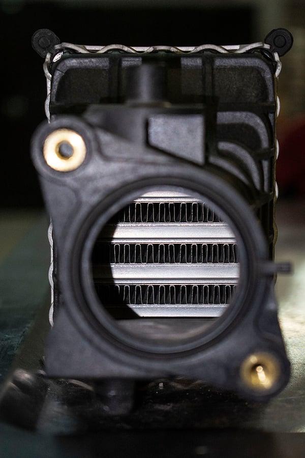Stock 10th Gen Civic Si Intercooler