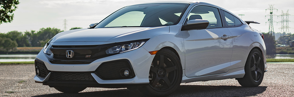 Project FC3 Honda Civic Si Gets Wheels, Tires, and Coilovers